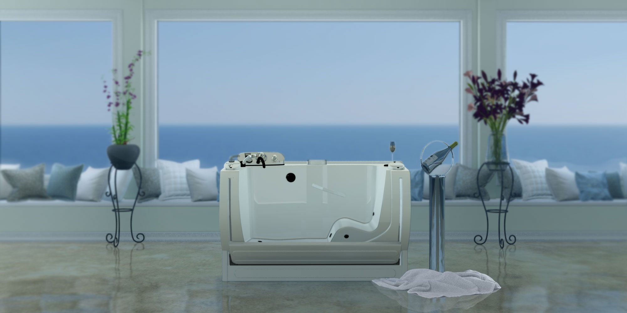 Entree II Spa Tub | MasterCare Patient Equipment