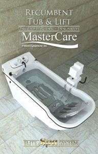 Recumbent Tub and Lift Chair brochure with information about our spa bath system.