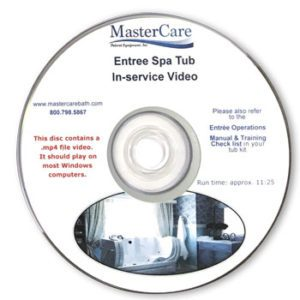 Entre Spa Tub In-service video.