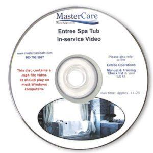 Entre Spa Tub In-service video.