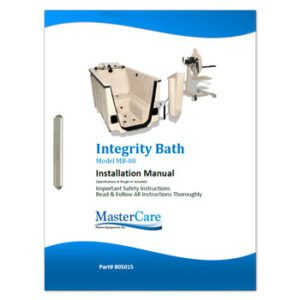 Integrity Bathing System Installation and Safety instructions