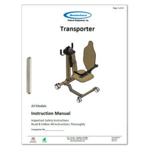 Transporter Manual with safety instructions